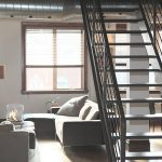 schody na małej przestrzeni